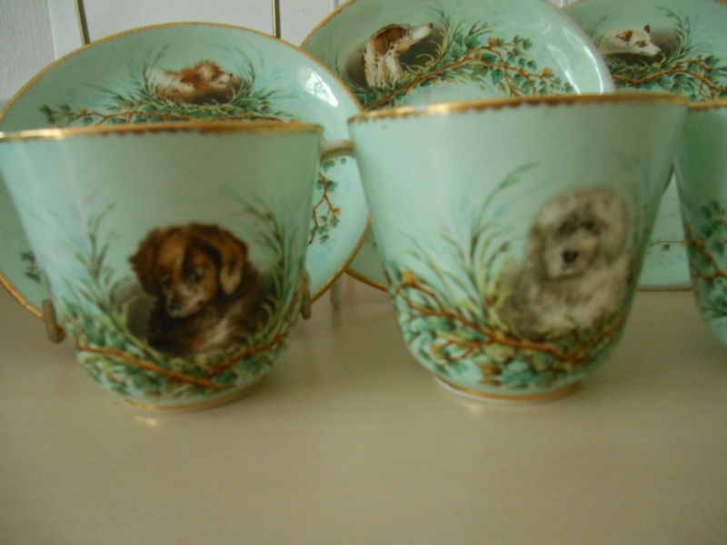 Maker identity? 19thc China Incised V & F or P Handpainted Dog Cartouches  Dscn0614