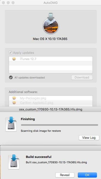 macOS High Sierra HD Build210