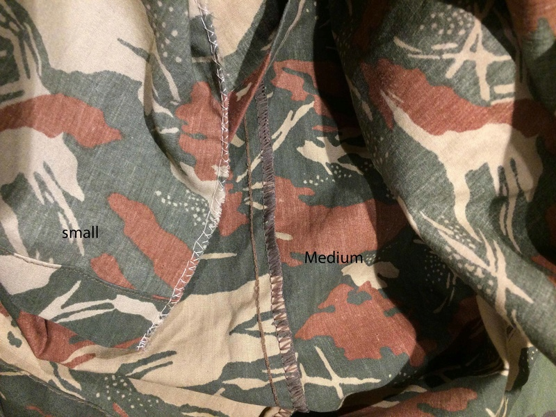 South West African Police Camouflage (originally posted by nkomo) Seams10
