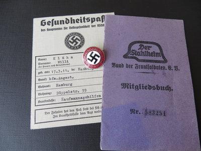 Partie d'un collectionneur néerlandais - WW2 allemand Stahlh10