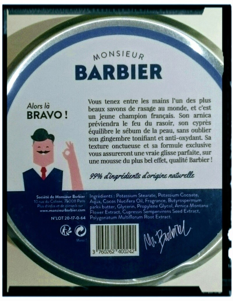 Savon Monsieur Barbier en collaboration avec le père lucien _2017026