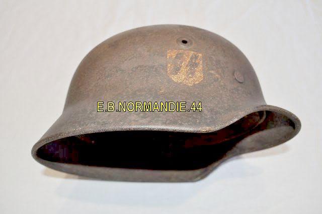 pour authentification avant achat casque SS M35 1D -urgent merci 210