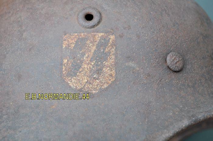 pour authentification avant achat casque SS M35 1D -urgent merci 710