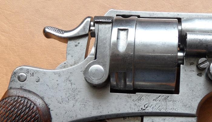 Le Revolver d'ordonnance Français modèle 1873  700_sa14