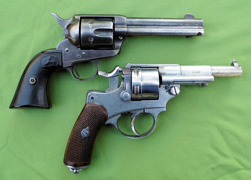 Le Revolver d'ordonnance Français modèle 1873  Colt1810