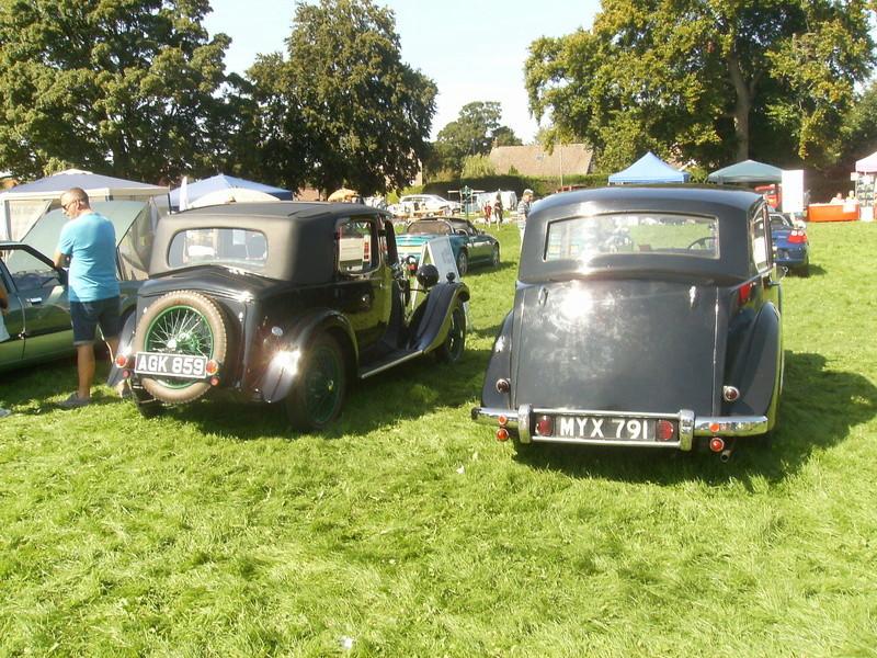 Swaffham Classic Car Show Sany0516
