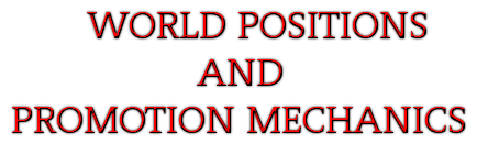 World Positions and Promotion Mechanics Wppm10