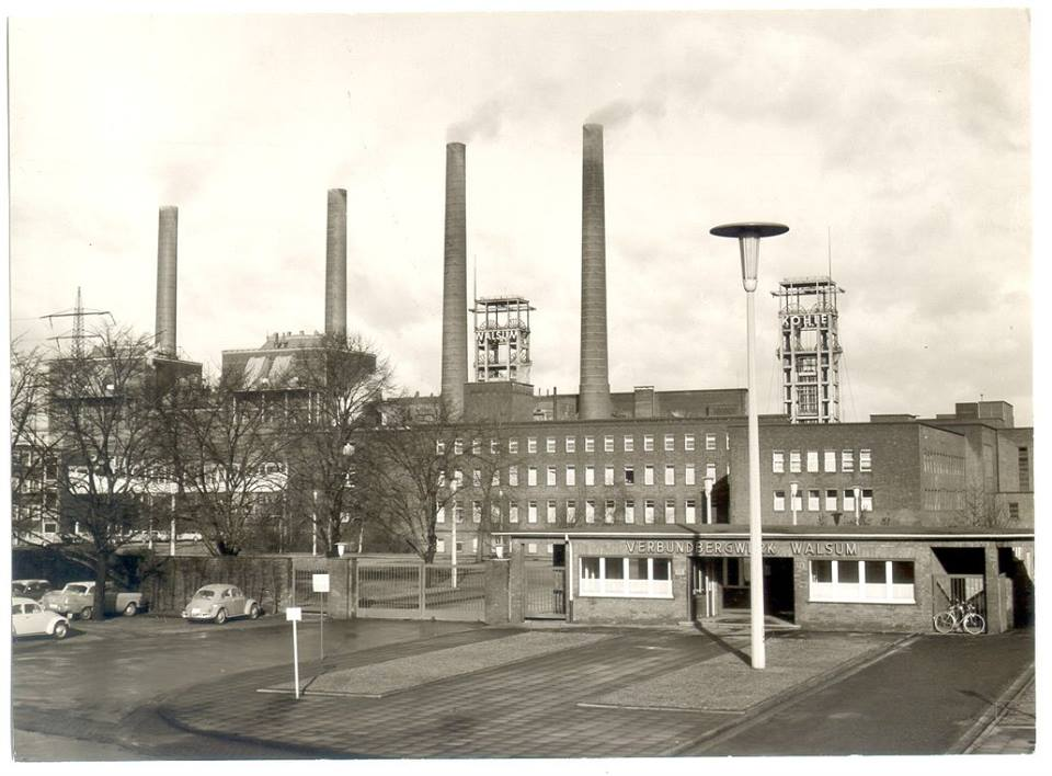 Alte historische Originalaufnahmen der Zeche Walsum 15726510