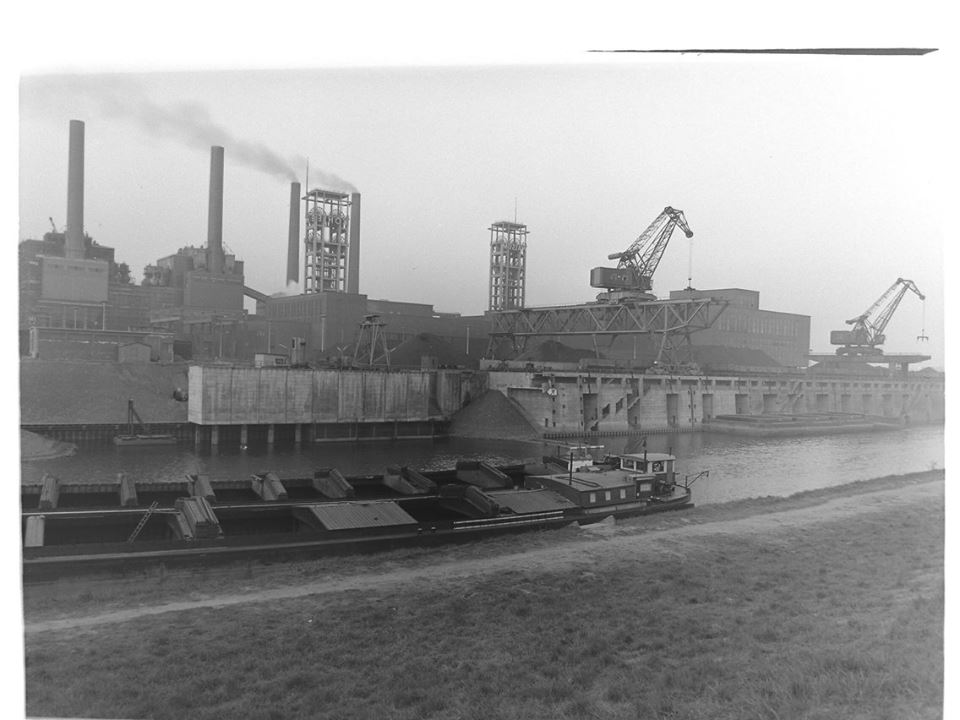 Alte historische Originalaufnahmen der Zeche Walsum 15740810
