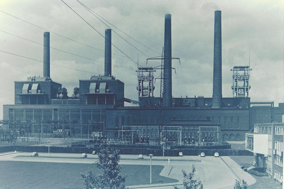 Alte historische Originalaufnahmen der Zeche Walsum 15780810