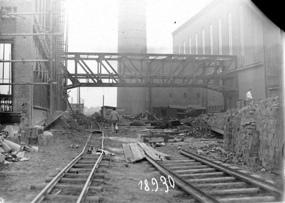 Alte historische Originalaufnahmen der Zeche Walsum 15780811