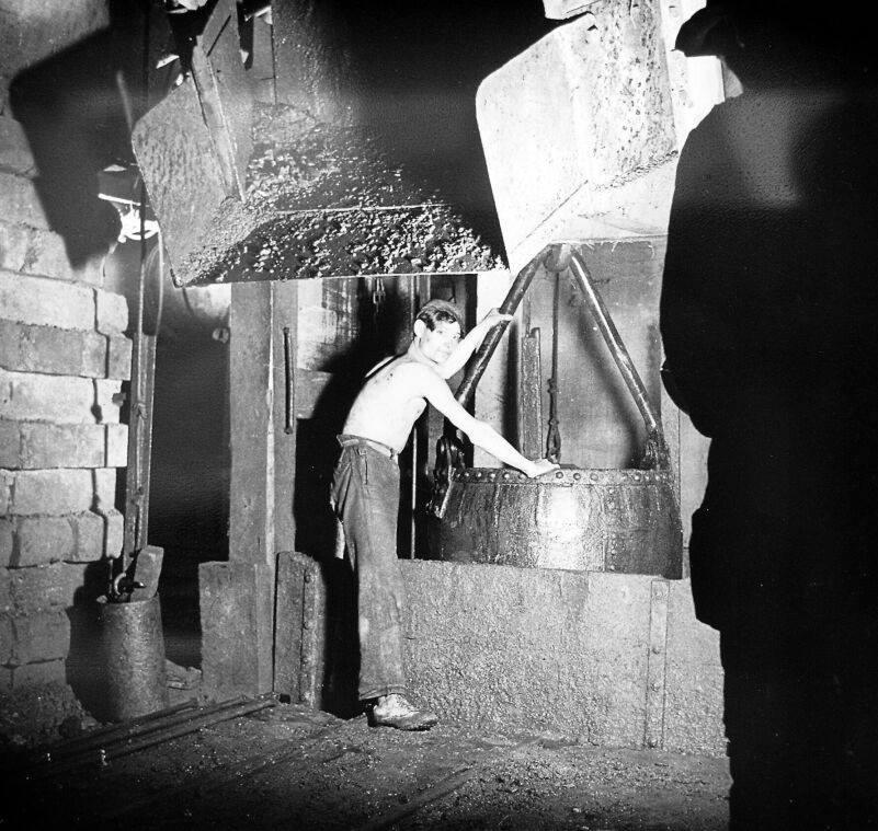 Alte historische Originalaufnahmen der Zeche Walsum 15826010
