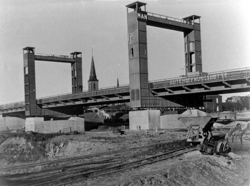 Alte historische Originalaufnahmen der Zeche Walsum 15826810
