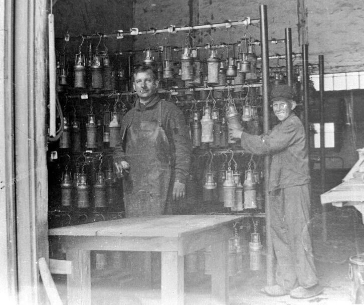 Alte historische Originalaufnahmen der Zeche Walsum 19260310