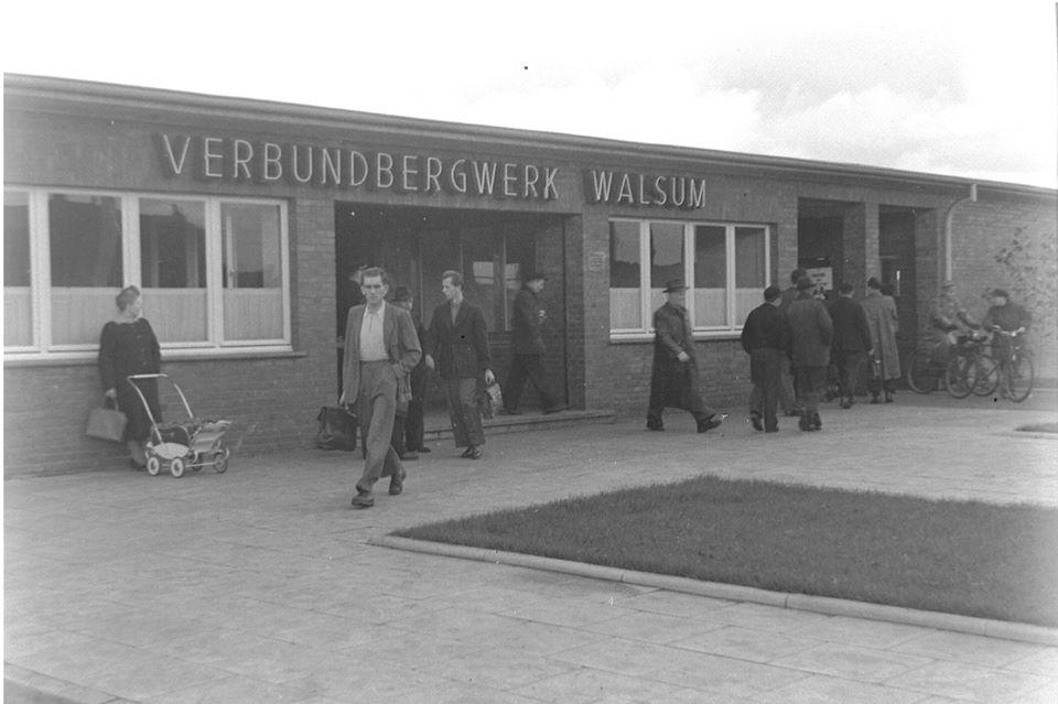 Alte historische Originalaufnahmen der Zeche Walsum 19275210