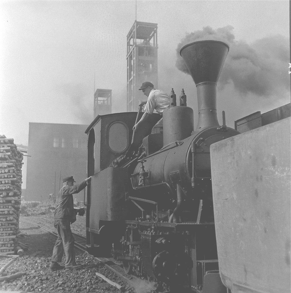 Alte historische Originalaufnahmen der Zeche Walsum 19397010