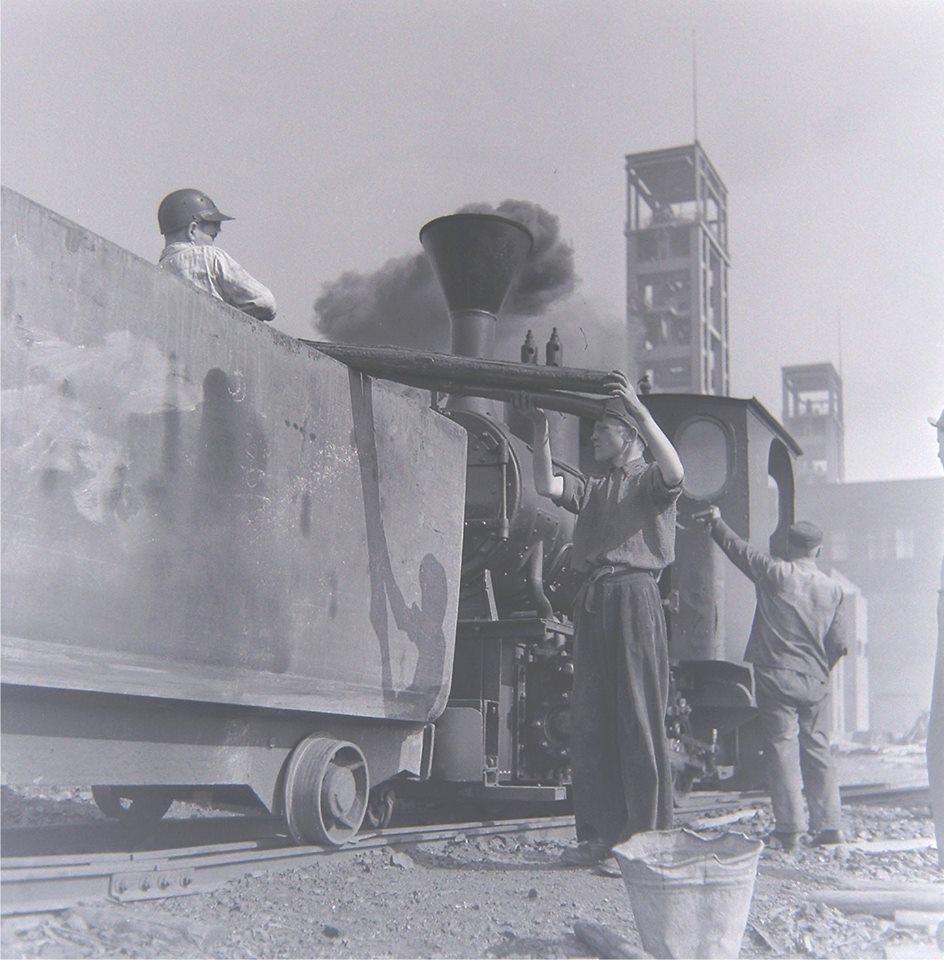 Alte historische Originalaufnahmen der Zeche Walsum 19399210