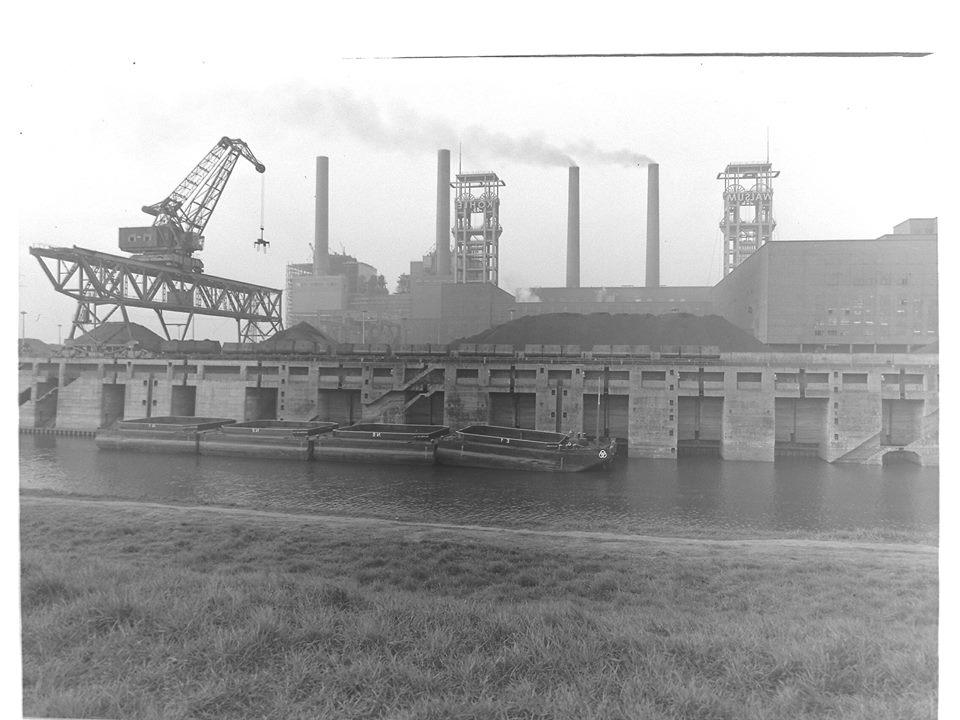 Alte historische Originalaufnahmen der Zeche Walsum 19420611