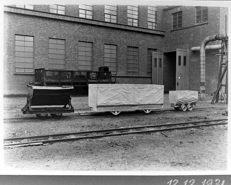 Alte historische Originalaufnahmen der Zeche Walsum 19424110