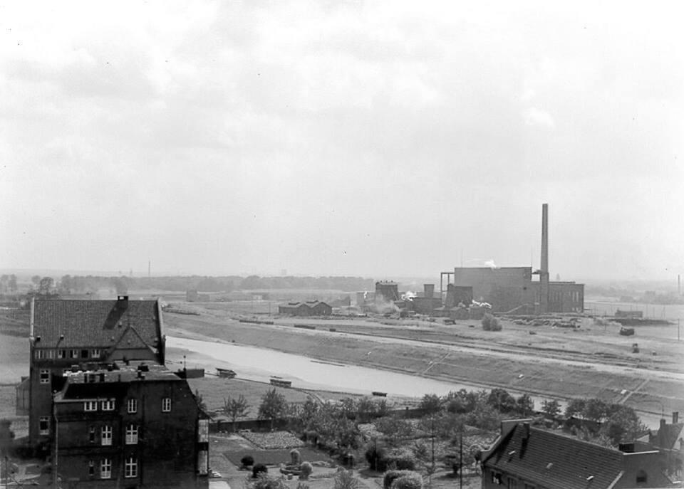 Alte historische Originalaufnahmen der Zeche Walsum 19424210