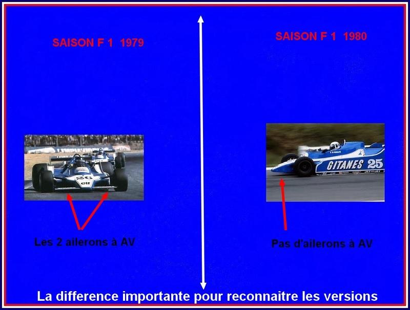 Ligier JS 11   saison 1979 échelle 1/12ème réf: 80 790  Ligier24