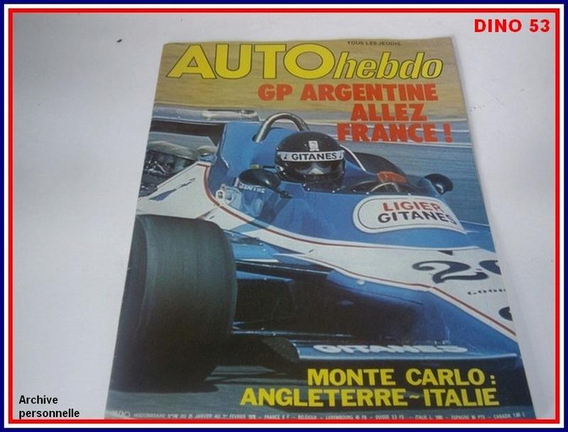 Ligier JS 11   saison 1979 échelle 1/12ème réf: 80 790  Ligier27