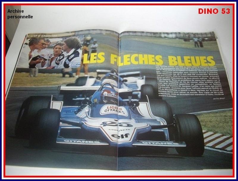 Ligier JS 11   saison 1979 échelle 1/12ème réf: 80 790  Ligier29