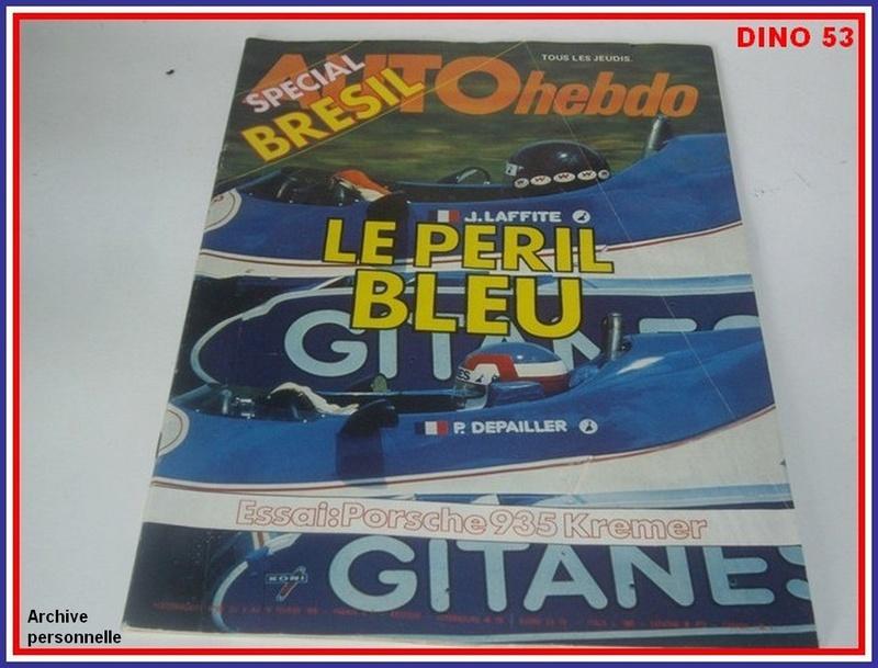 Ligier JS 11   saison 1979 échelle 1/12ème réf: 80 790  Ligier32