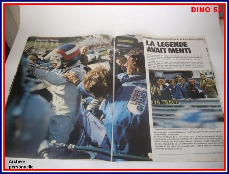 Ligier JS 11   saison 1979 échelle 1/12ème réf: 80 790  Ligier34