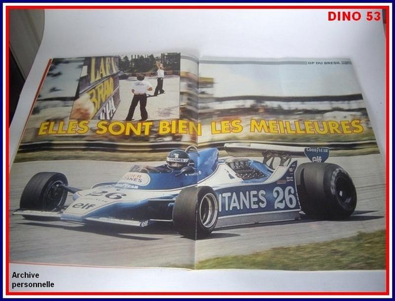 Ligier JS 11   saison 1979 échelle 1/12ème réf: 80 790  Ligier35