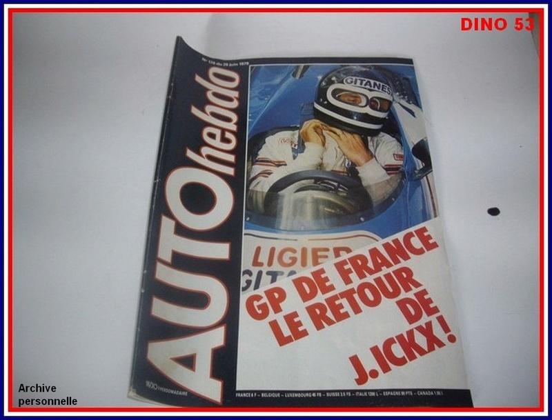 Ligier JS 11   saison 1979 échelle 1/12ème réf: 80 790  Ligier36