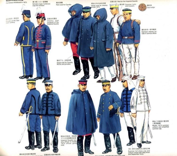 Japanese 1886 Uniform Hats 210