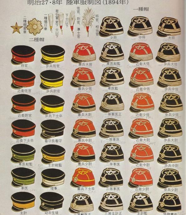 Japanese 1886 Uniform Hats Japan112