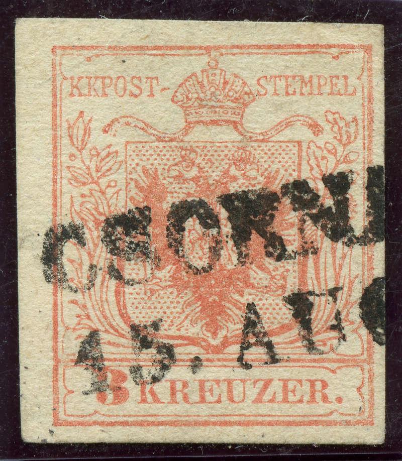 Die erste Österreichische Ausgabe 1850 - Seite 12 Ank3_m11