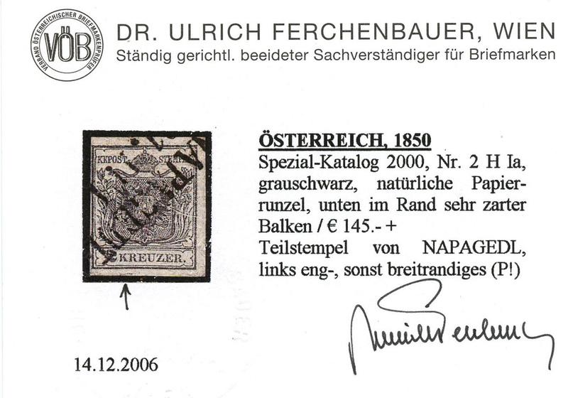 Die erste Österreichische Ausgabe 1850 - Seite 13 Ank_2_13