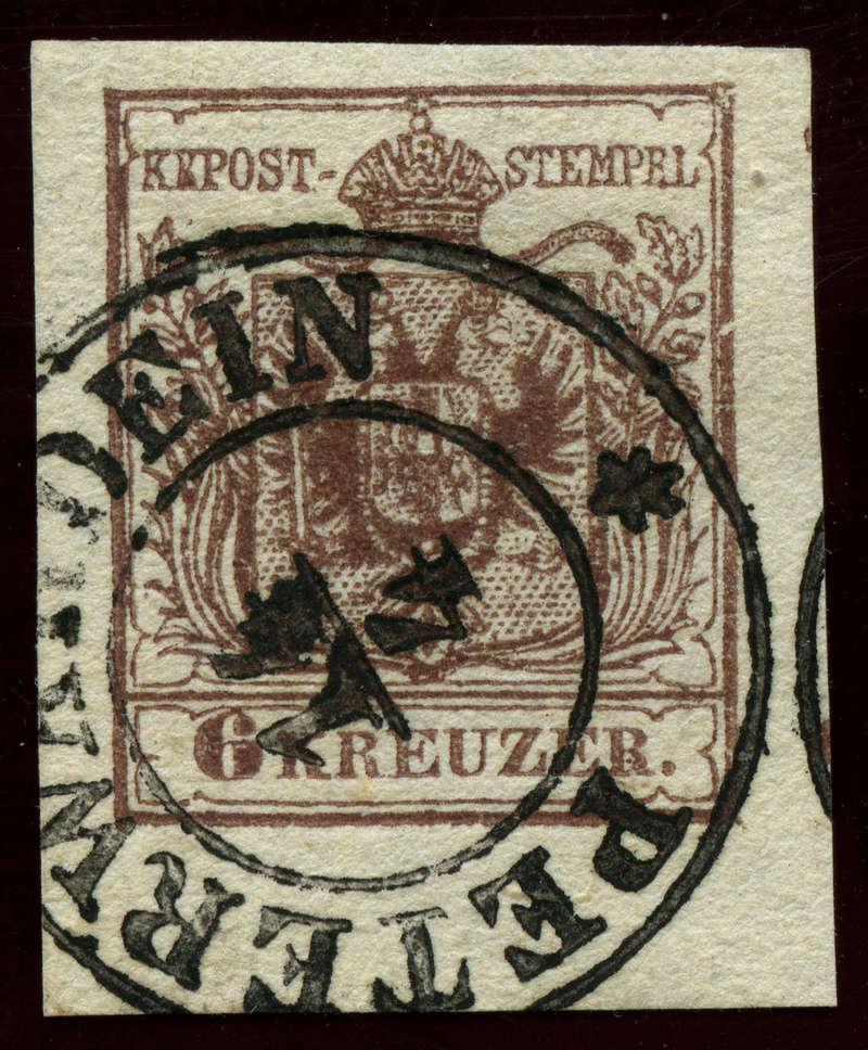 Die erste Österreichische Ausgabe 1850 - Seite 2 Ank_4_14