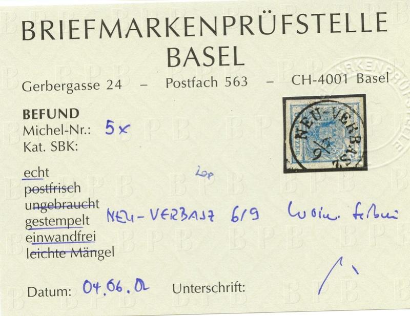Die erste Österreichische Ausgabe 1850 - Seite 12 Ank_5_10
