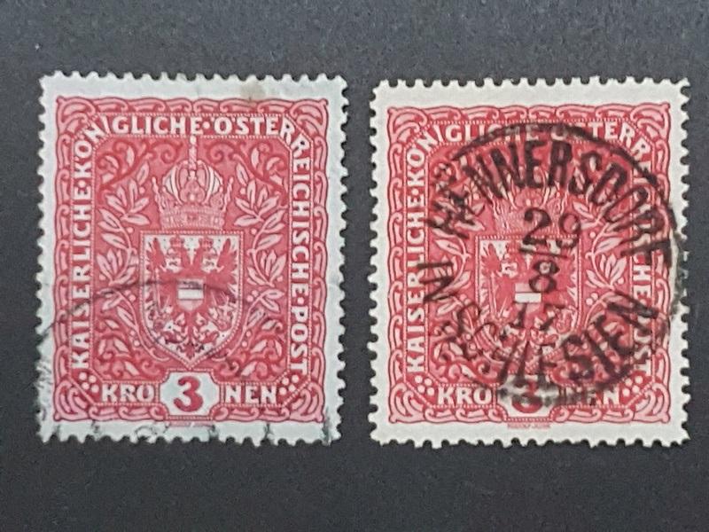 Die Freimarkenausgaben 1916 - 1918/1919 Bild110