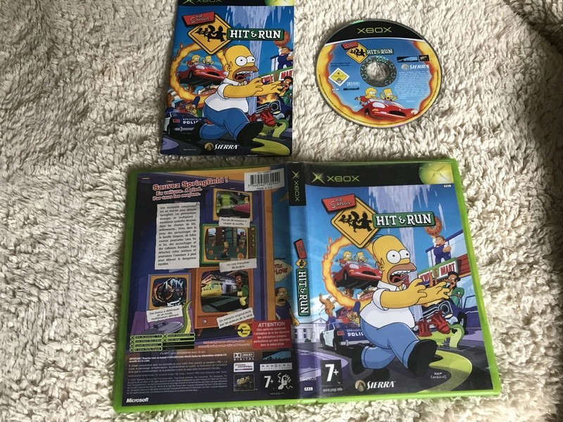 Simpsons hit and run pal fr  Xbox  Img_2119