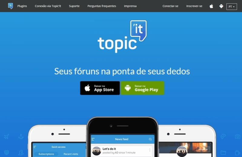 Descubra Topíc'it: o aplicativo móvel para seus fóruns ! Topici10