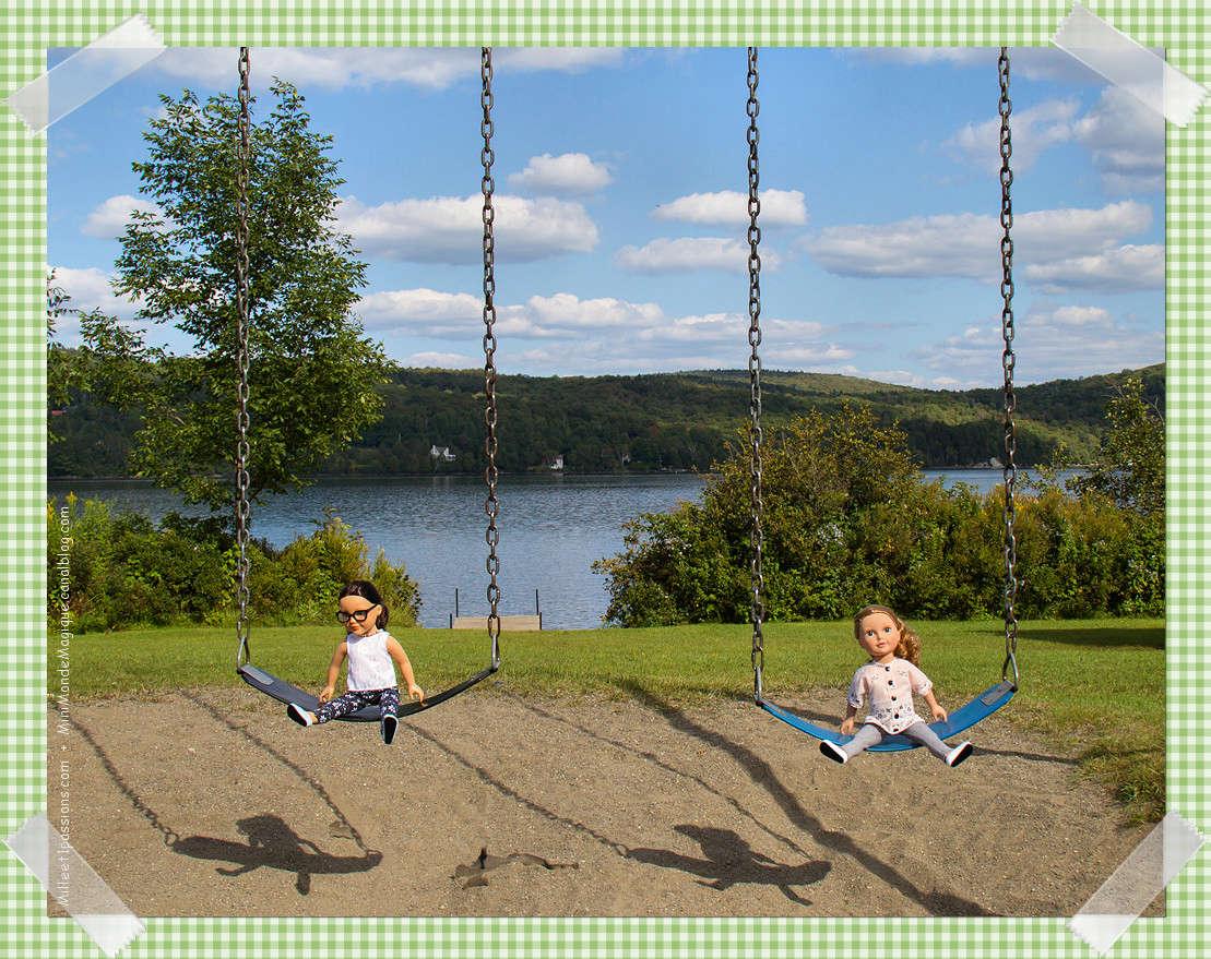 Mes poupées au Canada/USA : 25/06 - p.36   (nettoyage de voiture, balade et question, robe amérindienne, esquimau glacé) - Page 2 Img_5614
