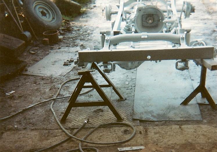 En 1995 je reconstruis une jeep Numyri20