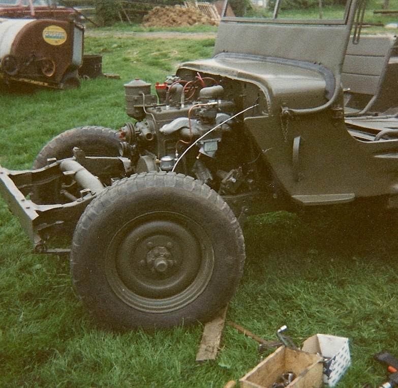 En 1995 je reconstruis une jeep Numyri22