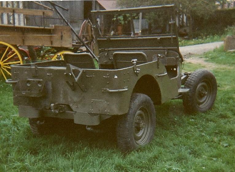 En 1995 je reconstruis une jeep Numyri23