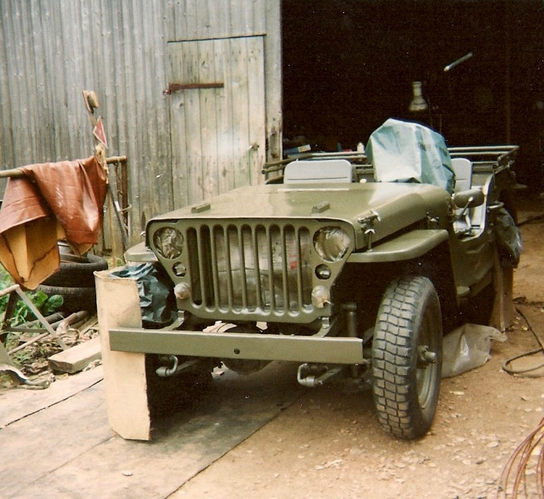 En 1995 je reconstruis une jeep Numyri24