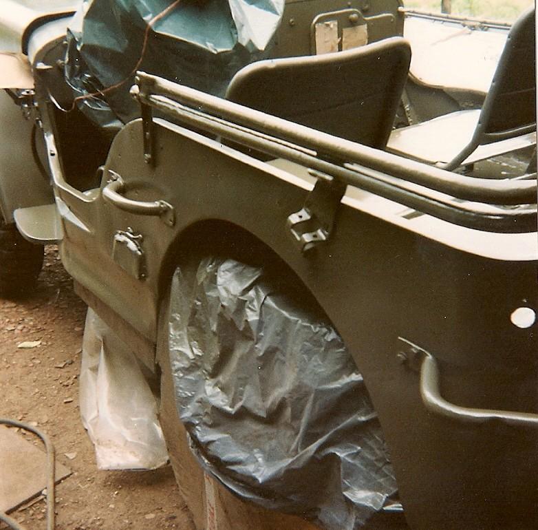En 1995 je reconstruis une jeep Numyri25