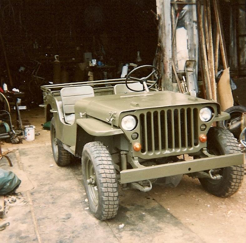 En 1995 je reconstruis une jeep Numyri26