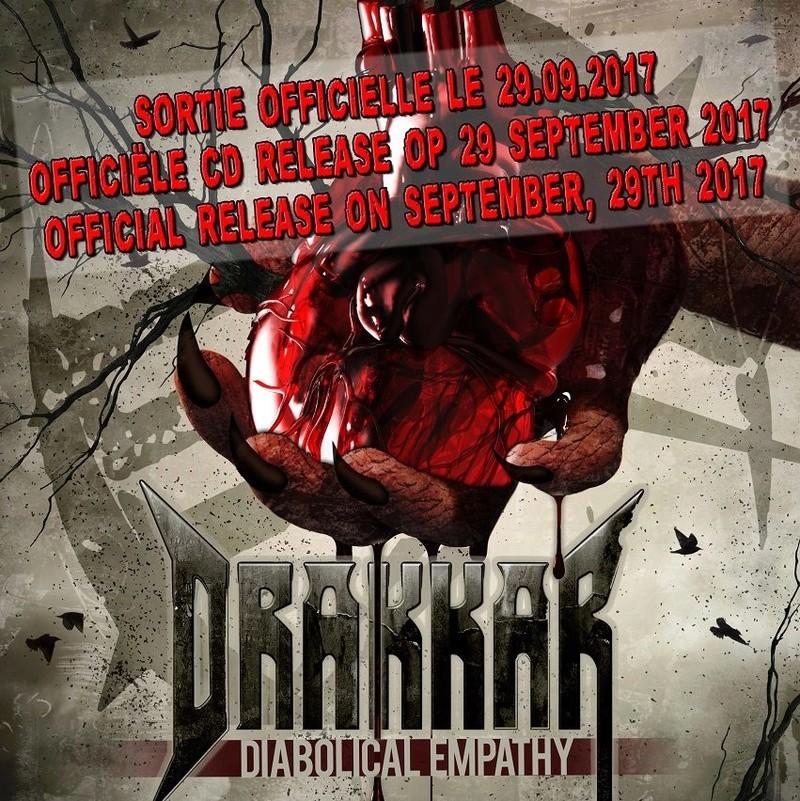 "DRAKKAR ""diabolical empathy"" 2017 18951110"