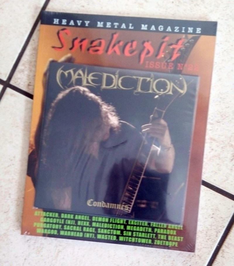 """Vers peut-être une réédition de MALEDICTION """"condamnés"""" 20841810"""
