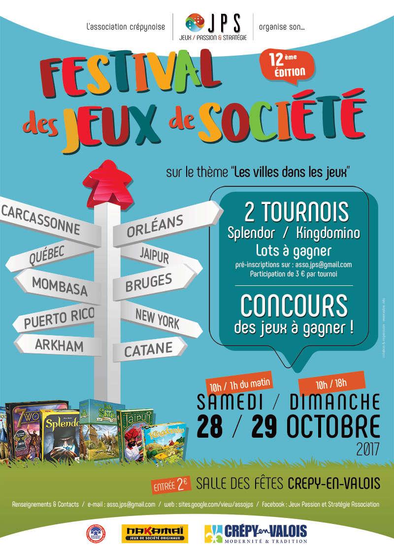 28 et 29 octobre 2017 : 12ème Festival des jeux de société de Crépy-en-Valois A3_jps12